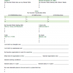 Meaningful Self-Assessment of Talent Worksheet